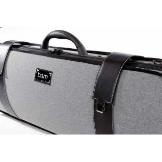 Футляр для скрипки BAM Grey Flannel Hightech, темно-серый
