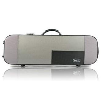 Футляр для скрипки BAM Stylus (5001SG), серебристо-серый