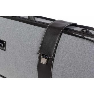 Футляр для альта BAM Grey Flannel Hightech, темно-серый