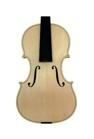 Белая скрипка 4/4 Ornati