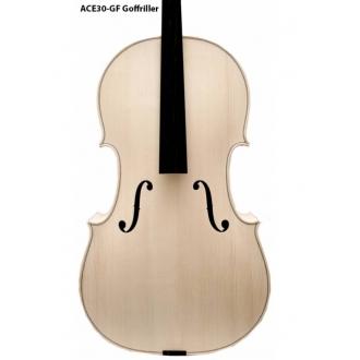 Белая виолончель 4/4 Montagnana