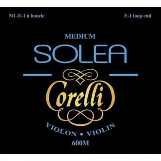 Комплект струн Corelli SOLEA для скрипки, Ми-петля