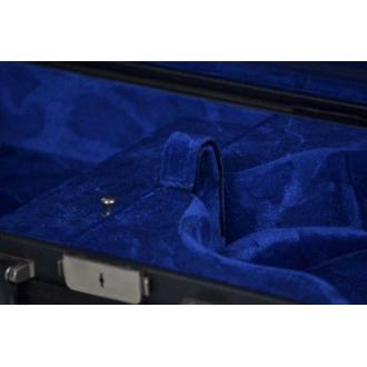 Футляр для скрипки Negri Classic, черный/синий