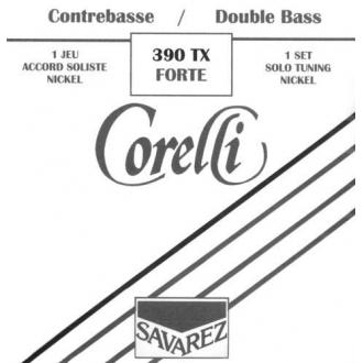Комплект струн для контрабаса Corelli 390 Solo
