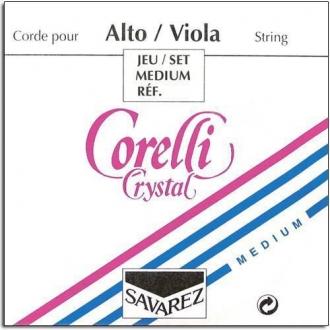 Комплект струн для альта CORELLI Crystal