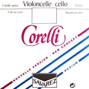 Комплект струн для виолончели Corelli (Steel)