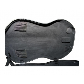 Футляр Extra Light 4.6 для виолончели 4/4, серебристый