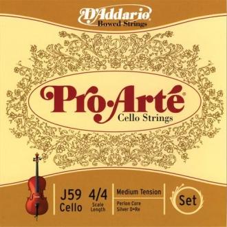 Струна Ре D'ADDARIO Pro Arte для виолончели