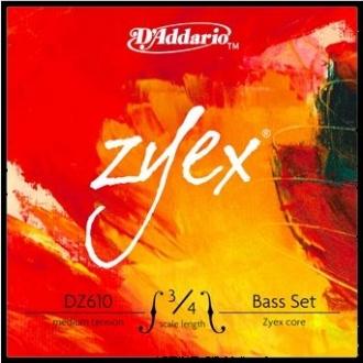 Комплект струн для контрабаса D´Addario Zyex