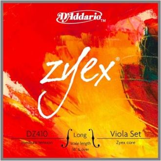 """Комплект струн для альта D'ADDARIO Zyex, длина 16"""" +"""