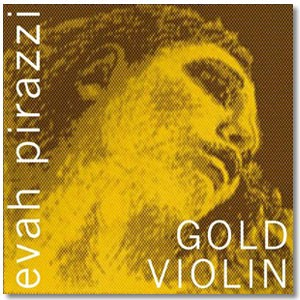 Струна Ре Evah Pirazzi Gold для скрипки