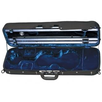 Футляр для скрипки Liuteria Maestro 4/4, черный/синий