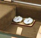 Термометр-гигрометр для футляров GL, бежевого цвета