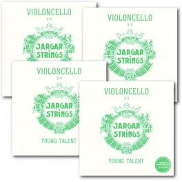 Комплект струн Jargar Young Talent для виолончели 3/4