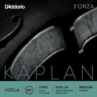 Cтруна Соль D'ADDARIO Kaplan Forza для альта, жесткая
