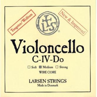 Струна для виолончели До Larsen Kabelkern