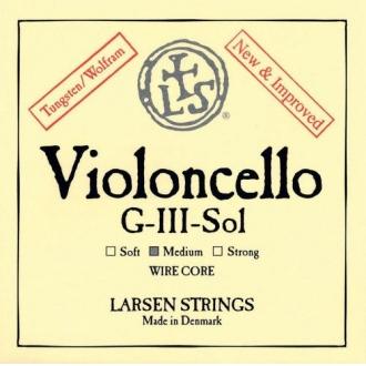 Струна для виолончели Соль Larsen Kabelkern