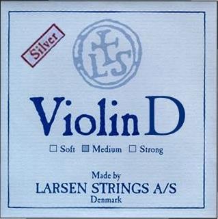 Струна Ре Larsen для скрипки, серебро
