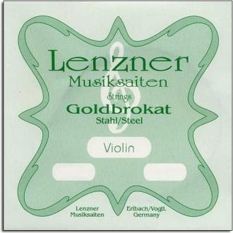 Струна для скрипки Ми LENZNER Goldbrokat