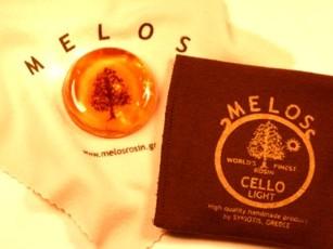 Канифоль MELOS для виолончели, светлая