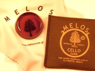 Канифоль MELOS для виолончели, темная