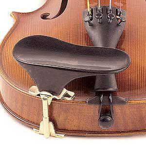 Подбородник для скрипки Ohrenform adjustable, черное дерево