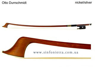 Мастеровой смычок Otto Durrschmidt Silver для контрабаса, французская модель