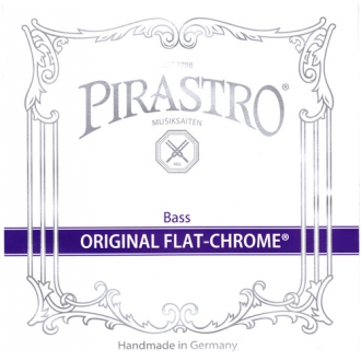 Струна Ре Pirastro Original Flat-Chrome Orchester для контрабаса