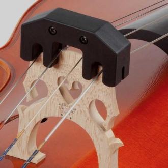 Сурдина для виолончели Practice Metal, черная