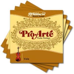 """Комплект струн для альта D'ADDARIO Pro Arte, для размера до 15"""""""