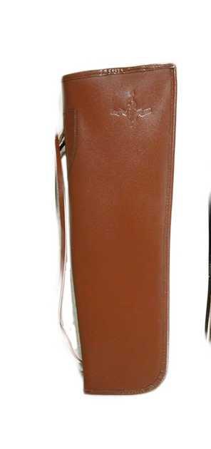 Колчан KOCHER-black для смычка контрабаса, коричневый