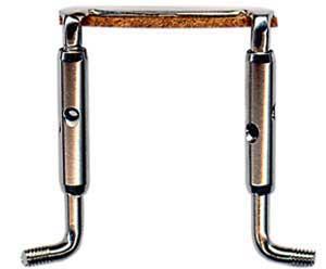 Крепление для подбородника альта, никель, XL (35mm)