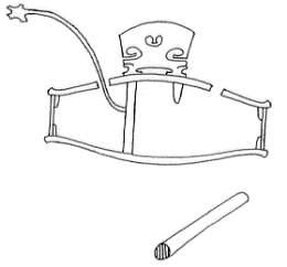 Вилка для установки душки скрипки и альта - Soundpost Setter