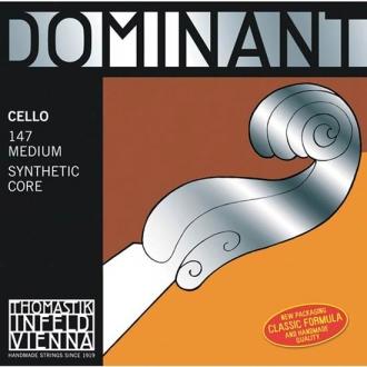 Струна Соль THOMASTIK Dominant для виолончели, хромсталь