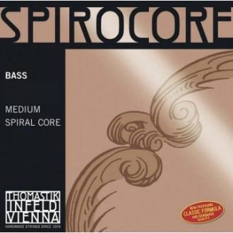 Комплект струн для контрабаса Thomastik Spirocore Solo