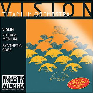 Комплект струн для скрипки THOMASTIK Vision Titanium Orchester