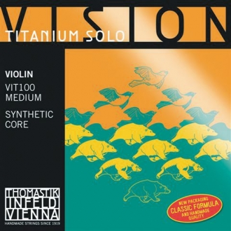 Струна для скрипки Ля THOMASTIK Vision Titanium Solo