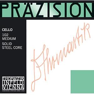 Струна для виолончели Ля THOMASTIK Prazision, хромсталь