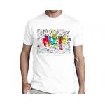 Мужская футболка ❤ Music Joke, белая