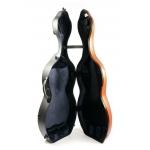 Футляр для виолончели BAM Hightech Shamrock Cello case + wheels, с колесами
