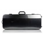 Футляр BAM Hightech Two violins для 2-х скрипок, черный карбон-дизайн