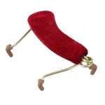 Мостик Menuhin Adjustable 4/4-3/4 для скрипки, красный