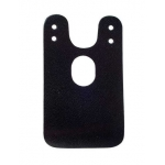 Накладка Clamp Cover на крепление подбородника, черная