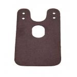 Накладка Clamp Cover на крепление подбородника, коричневая