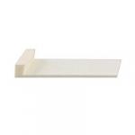 Пластина на шпиц смычка контрабаса Ivory imitation without liner 83°