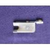 Колодка для альтового смычка - рог буйвола, серебро