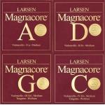 Комплект струн Larsen Magnacore для виолончели