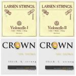 Комплект струн для виолончели Larsen Solo/Crown