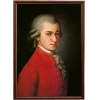 Портрет композитора Вольфганг Моцарт