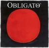Комплект струн для скрипки PIRASTRO Obligato (Ми сталь)